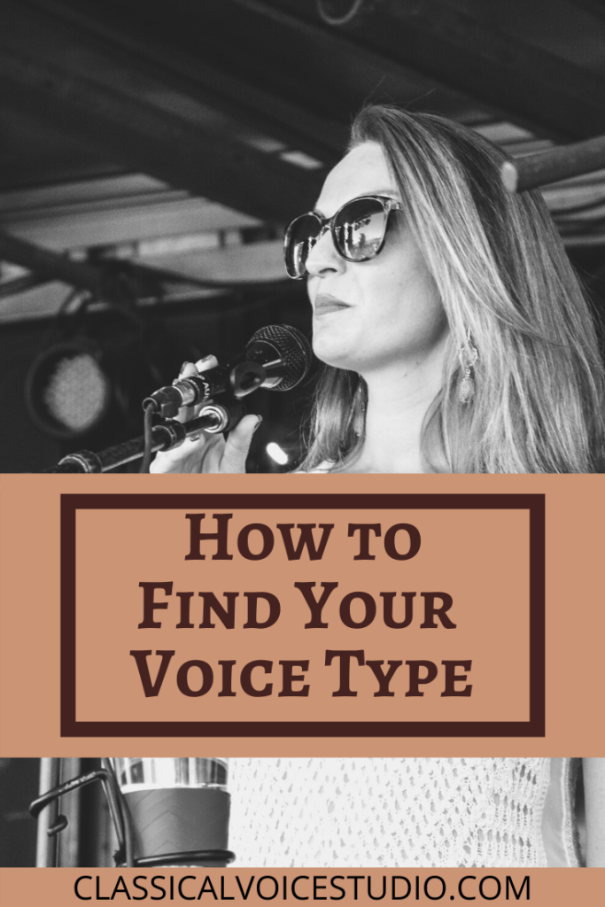 How to find your voice type or voice classification. Voice Range and Voice tessitura